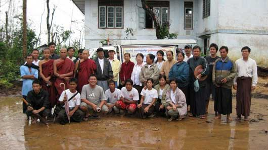Monle Relief Volunteers photo image