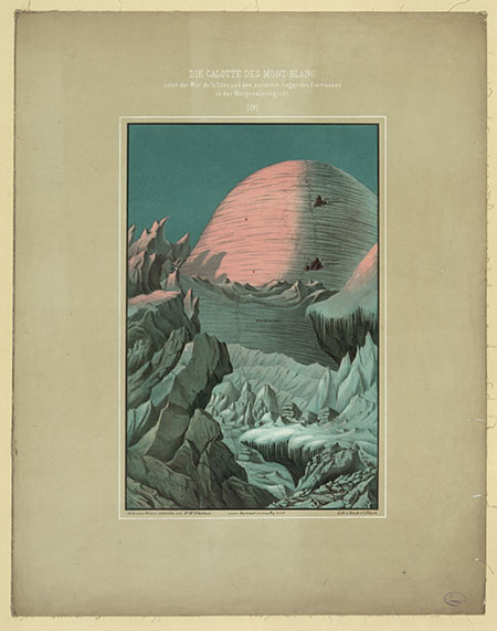 Mont Blanc illustration image