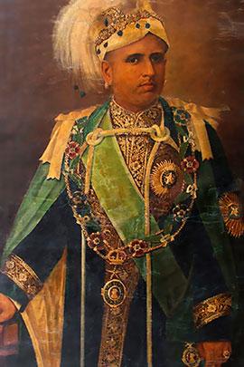 Sree Moolam Thirunal portrait image
