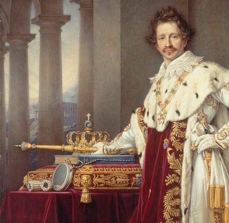 Ludwig I portrait image