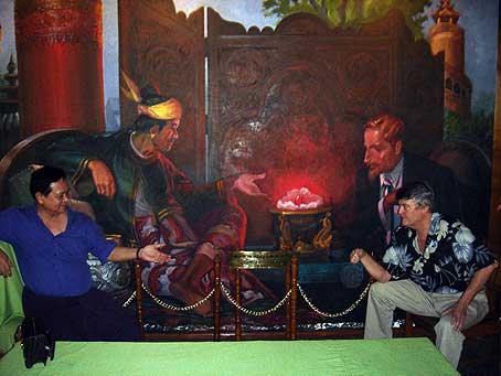 Han Htun and Bill Larson photo image