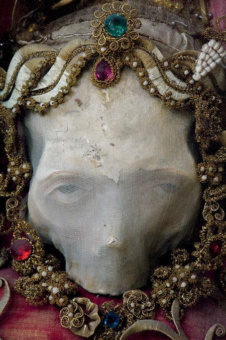 Deodatus Skull Relic photo image