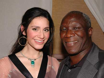 Moussa Konate and Rebecca Boyajian photo image