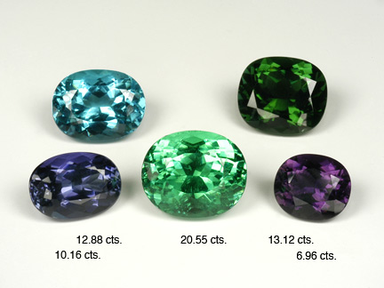 Untreate Cuprian Tourmaline Suite photo image