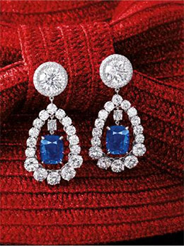 Sapphire Earrings photo image