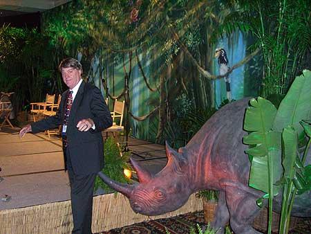 Bill Larson in Jungle photo image