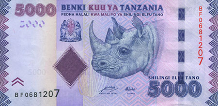 5000 Shilling Note photo image