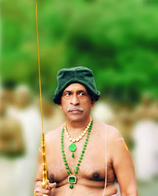 Swathi Thirunal Rama Varma portrait image