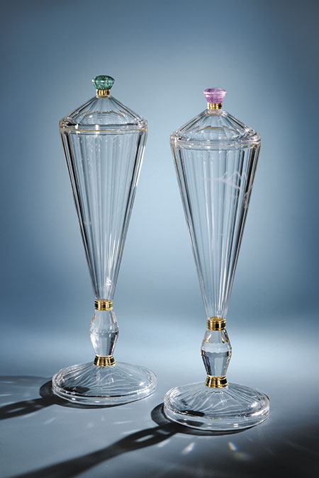 Quartz Twin Vases photo image