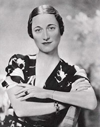 Wallis Simpson photo image