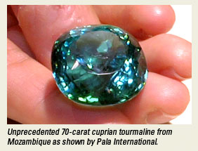 Pala Cuprian Tourmaline photo image