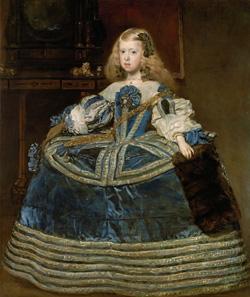 Infanta Margarita Teresa painting image
