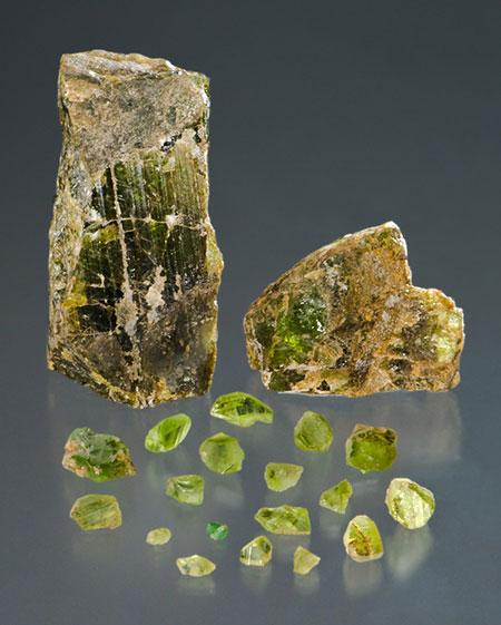 Peridot Crystals photo image