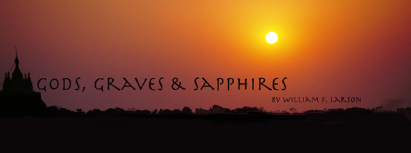 Gods, Graves & Sapphires by William F. Larson title image