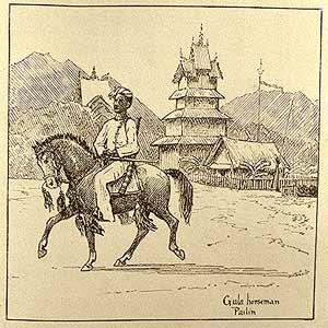 Horseman image