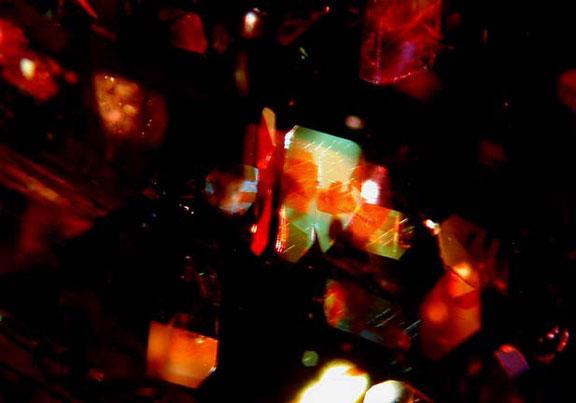 Sunstone Inclusion photomicrograph image