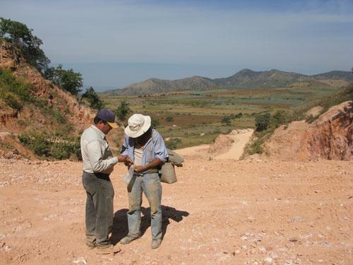 Pata de Gallo Mine photo image
