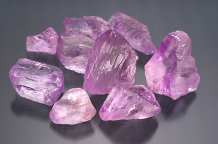 Uncut Kunzite photo image