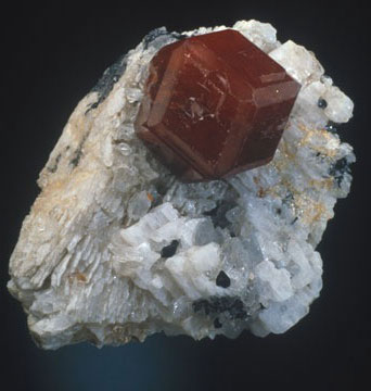 Spessartine Crystal photo image