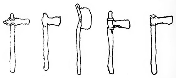 Axes illustrations