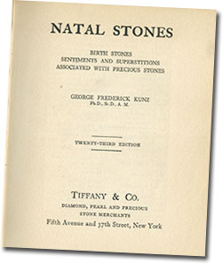 Natal Stones title page image