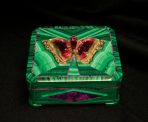 Intarsia Butterfly Box photo image