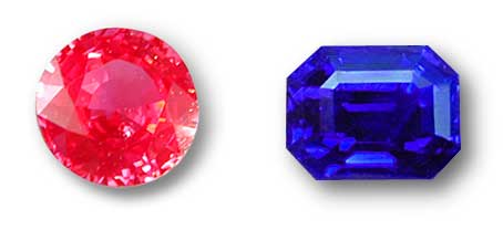 Spinel and Sapphire photo image