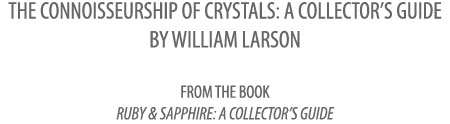 The Connoisseurship of Crystals title image