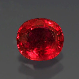 Faceted Thai Ruby photo image