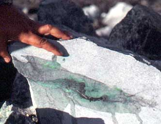 Jadeite photo image