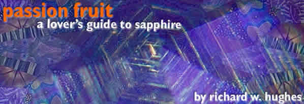 Passion Fruit: A Lover's Guide to Sapphire, By Richard W. Hughes title image