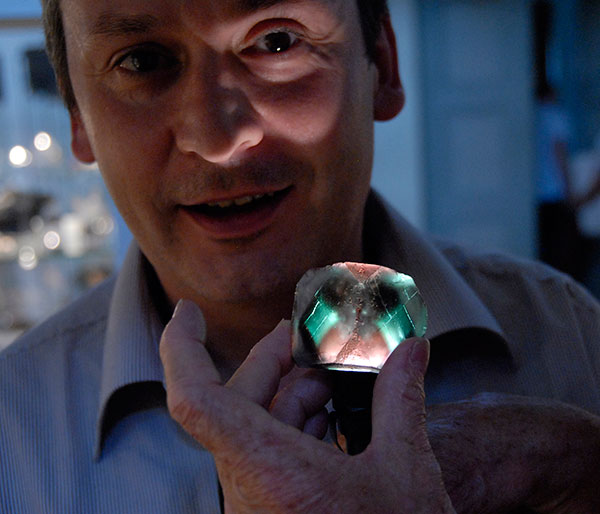 Alain Martaud and Alien Fluoritephoto image