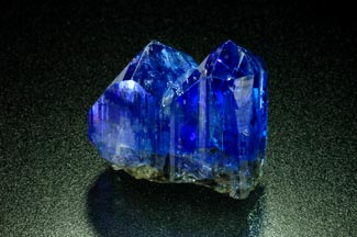 Tanzanite Crystal photo image
