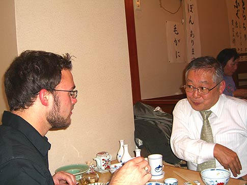Will Larson and Moriyama-san photo image